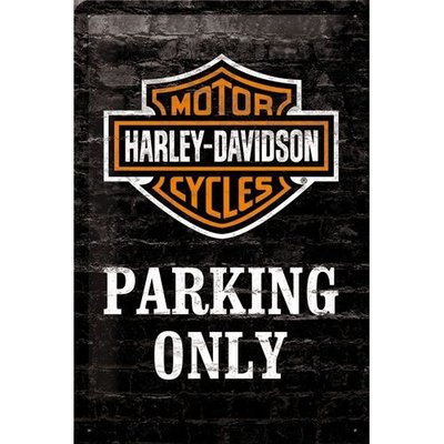 Harley Davidson, Parking Only 20x30 3D