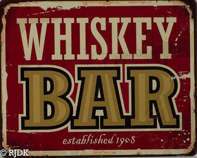Whiskey Bar 20x25