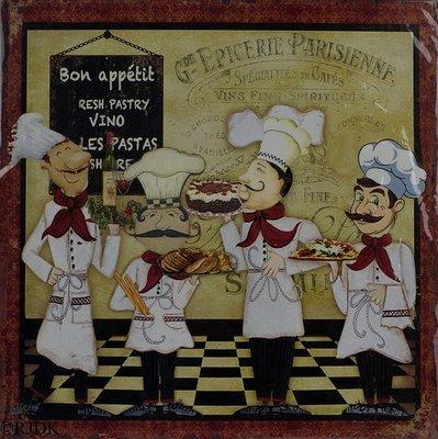 Bon Appetit 30x30