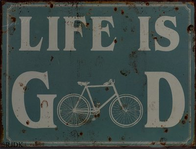 Life is Good 33x25