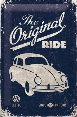 VW Beetle - The Original Ride 20x30 3D