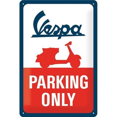 Vespa Parking Only 30x20 3D