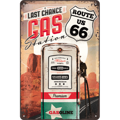 Route 66 Gas Station 30x20 3D