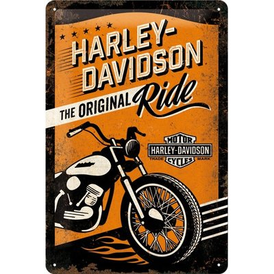 Harley Original Ride 20x30 3D