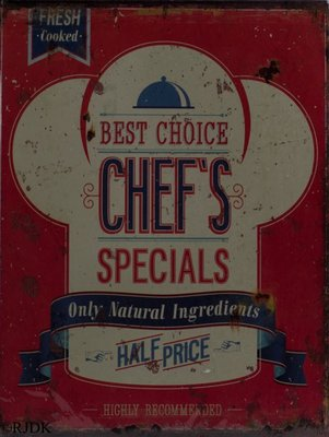 Best choice Chef's specials 33x25
