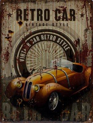 Retro car 33x25