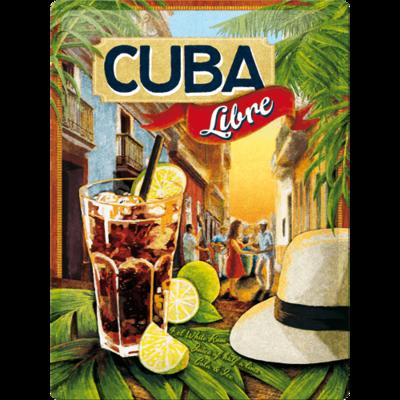 Cuba Libre 30x40 3D