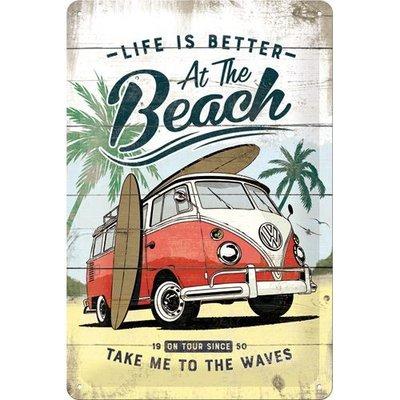 VW Bulli Beach 20x30 3D