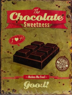 The Chocolate Sweetness 33x25