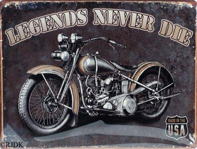 Legends never die 25x33
