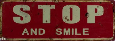 Stop and Smile 13x36