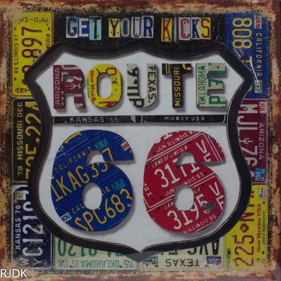 Get your Kicks, Route 66 30x30