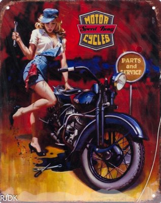 Motor cycles parts and service 25x20