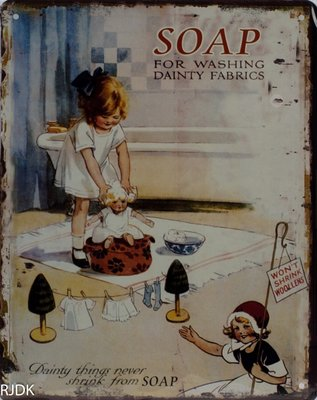 Soap for washing dainty fabrics 25x20