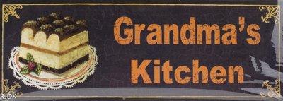 Grandma's Kitchen 13x36