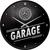 Wandklok Mercedes Benz Garage