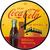 Wandklok Coca Cola in Bottles 3D