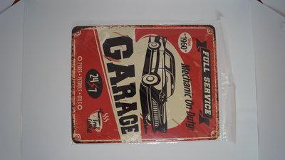 Full service garage 20x25