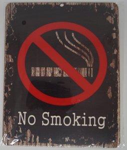 No Smoking 25x20