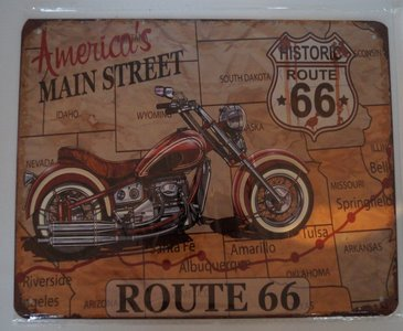 Route 66 America's Main street 20x25