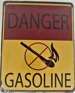 Danger Gasoline 25x20