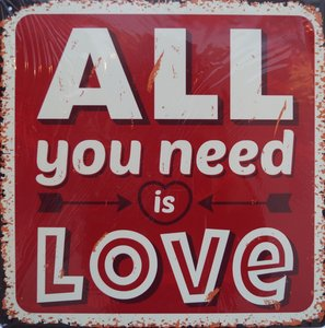 All you need is Love 30x30