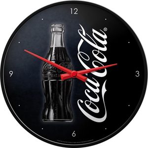 Wandklok Coca Cola Sign of Good Taste 3D