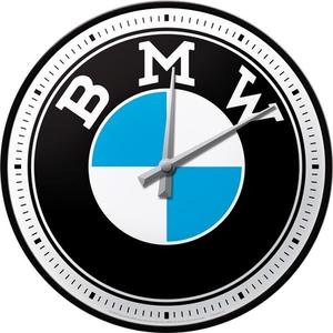 Wandklok BMW Logo