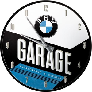 Wandklok BMW Garage