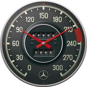 Wandklok Mercedes Benz Tacho