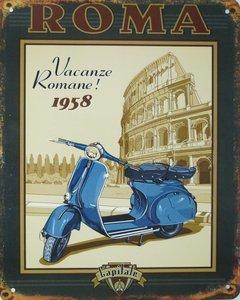 Roma Vacanze Romane! 1958 25x20