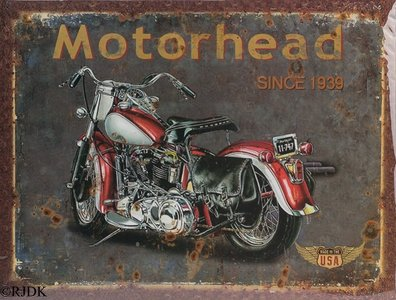 Motorhead since 1939 20x25