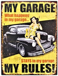 MY GARAGE - MY RULES !