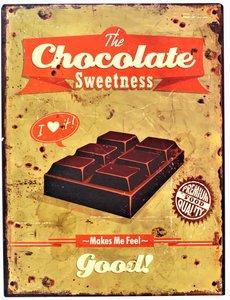 "2D bord ""The Chocolate Sweetness"" 33x25cm"