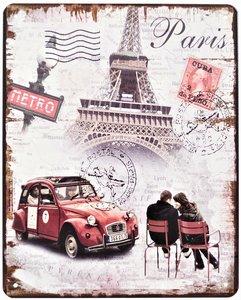 """2D bord """"Paris"""" 25x20cm"""