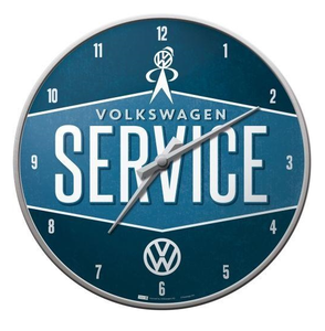 Wandklok VW Service