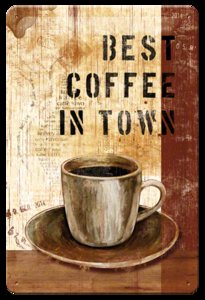 Best coffee in town 20x30 3D
