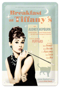 Breakfast at Tiffanys Bleu 20x30 3D