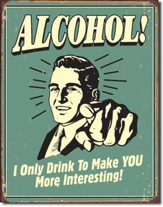 ALCOHOL! 33x25