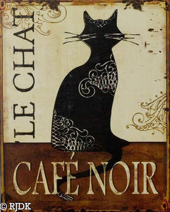 CAFE NOIR  Le Chat