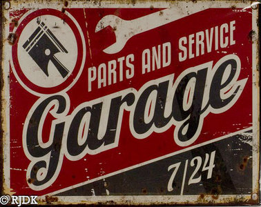 Parts and services Garage 7/24