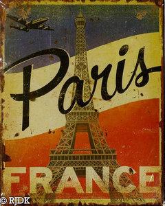Paris France 25x20