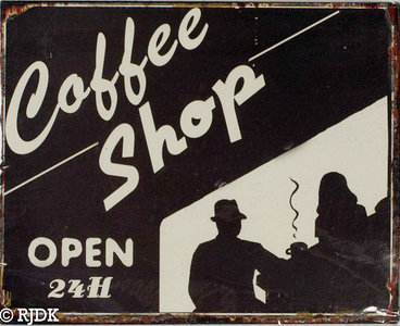 Coffee Shop, Open 24H
