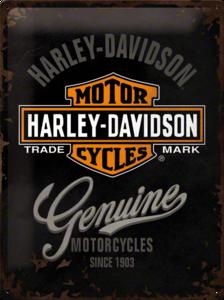 Harley Davidson genuine Logo Black NA23125