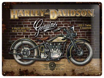 Harley Davidson Brick Wall NA23124