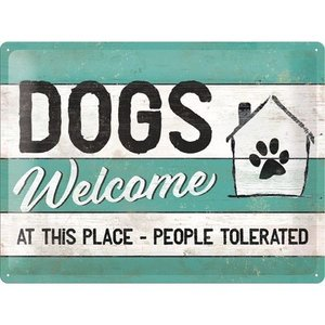 Dogs Welcome  NA23246