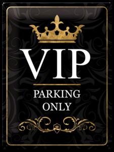 V.I.P Parking Only  NA23149