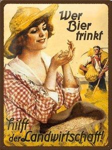 Wer Bier Trinkt  NA23162