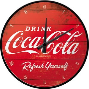 Coca Cola Wall Clock Refresg  NA51074