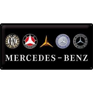 Mercedes Logo Evo 25x50cm NA2702